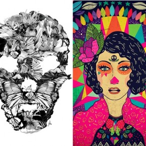 Ykha & Diela is featured in Top 10 Indonesian Illustrator by Serikat Seni