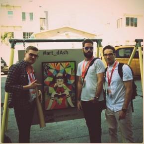 [Documentation] Diela's latest exhib; Pop Up Art with Art_Dash