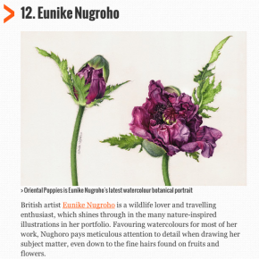 Eunike is the Top 20 Illustrators to follow on Behance
